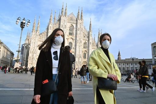 イタリア、新型ウイルス感染の死者3人に ベネチアのカーニバルなど中止