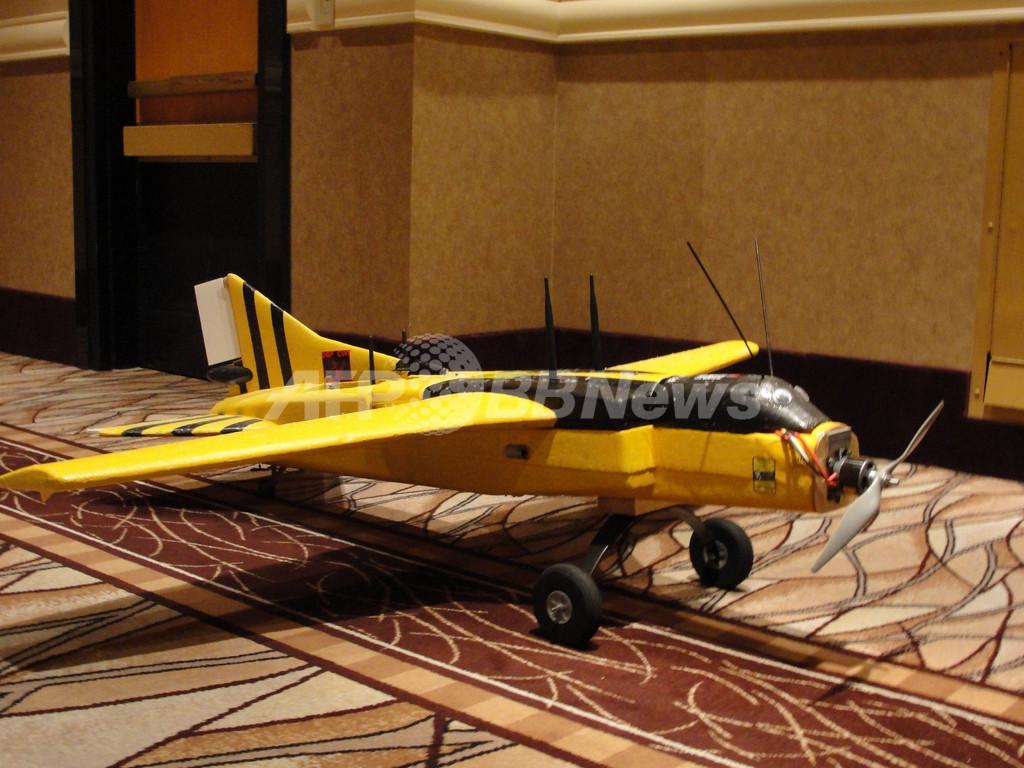 上空からサイバー攻撃できる「ハッカー無人機」、米専門家が制作