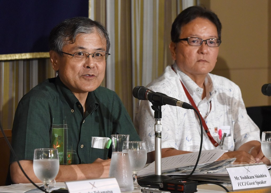 「つぶせ」と名指しの沖縄2紙が会見、「民主主義の危機」訴える