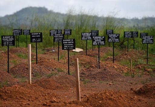 エボラ犠牲者たちの墓碑、シエラレオネ