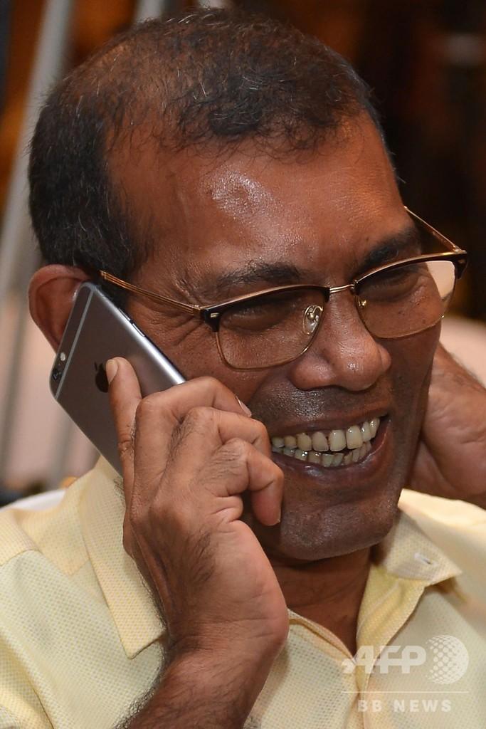 モルディブ大統領選、野党候補のソーリフ氏が勝利 中国傾斜の現職破る