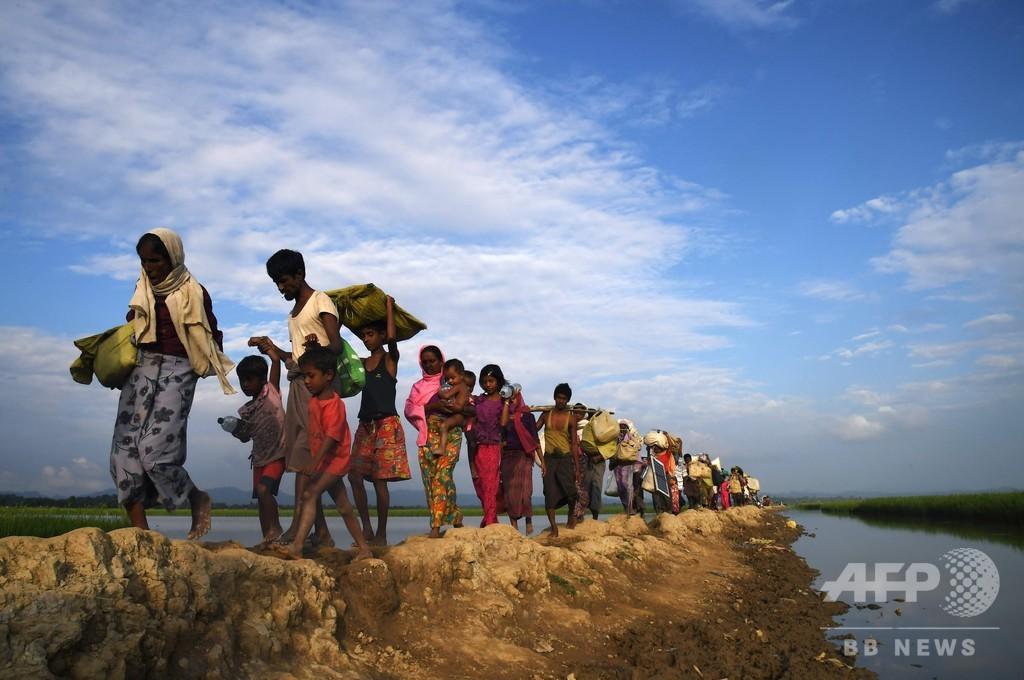 ICC、ミャンマー軍によるロヒンギャ追放「管轄権行使できる」