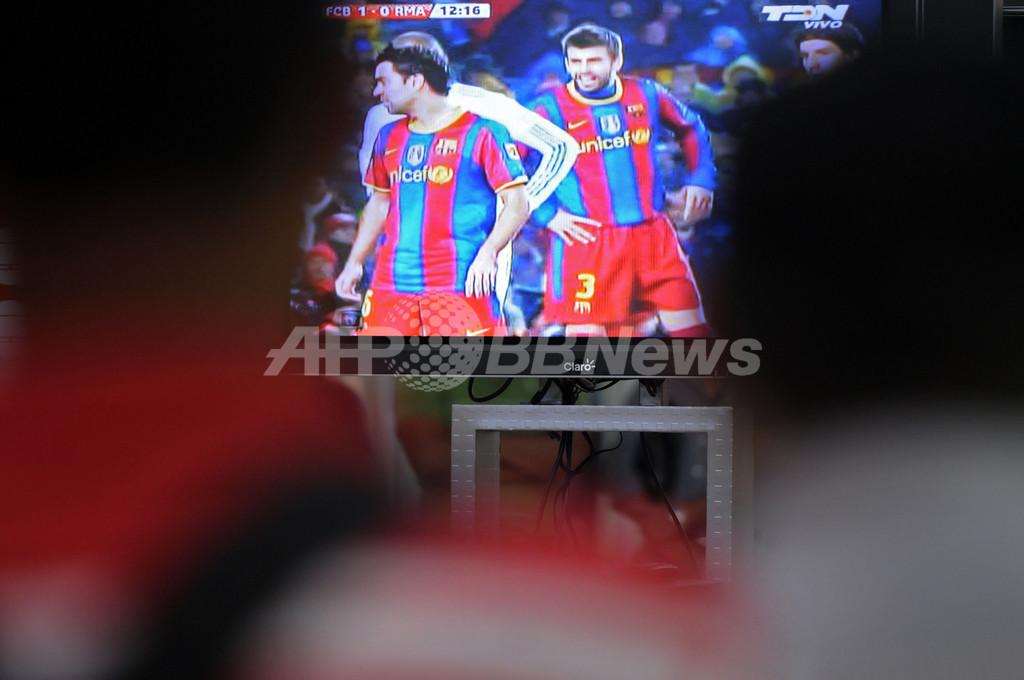 テレビ放映権巡るスト回避、スペインサッカー