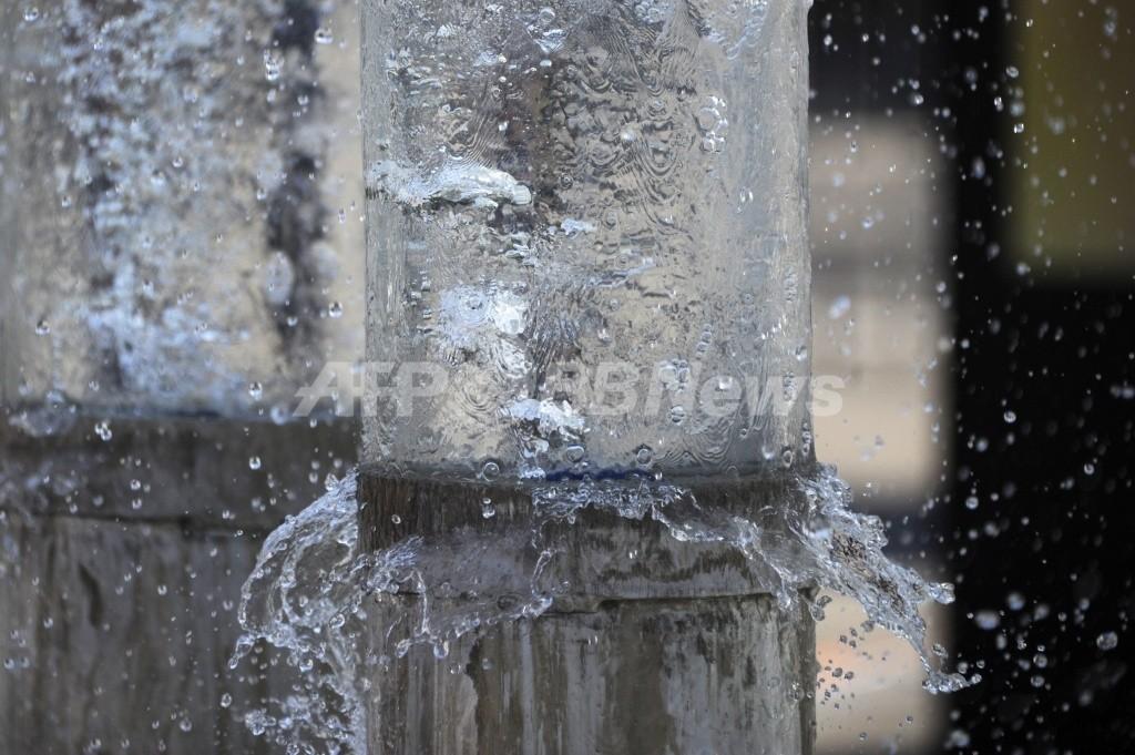 世界で水不足が深刻化、節水努力が急務 国連報告書