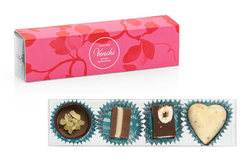 イタリアの老舗チョコジェラテリア「ヴェンキ」の情熱的なバレンタイン