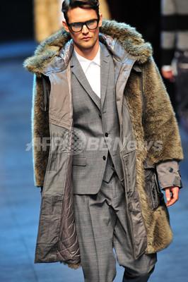 <11/12年秋冬ミラノ・メンズコレクション>ドルチェ&ガッバーナ、新作を発表