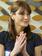 カーラ・ブルーニ仏大統領夫人、ブラジルで地元ファッションショー鑑賞