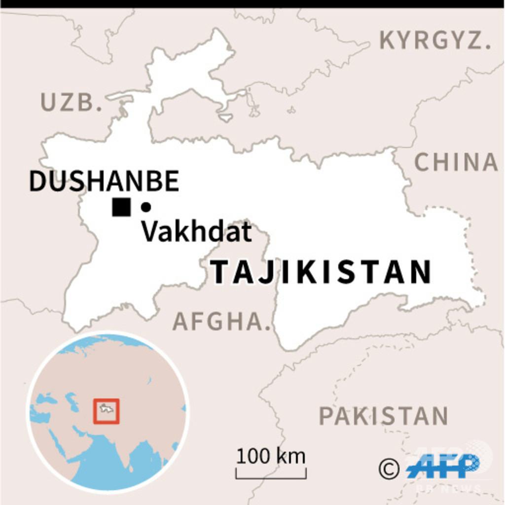 タジキスタン刑務所で暴動、IS戦闘員の受刑者ら32人死亡
