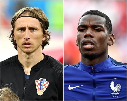 優勝の行方を左右する3つのマッチアップ、クロアチア対フランス