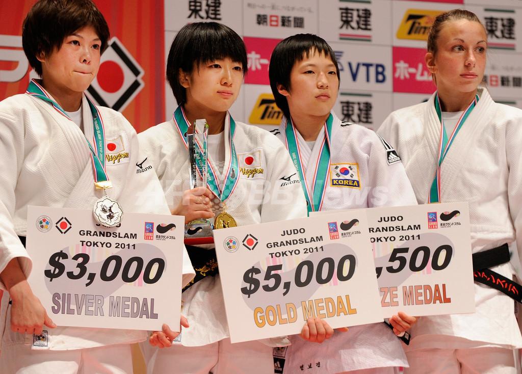 日本勢が初日の全4階級制覇、柔道グランドスラム