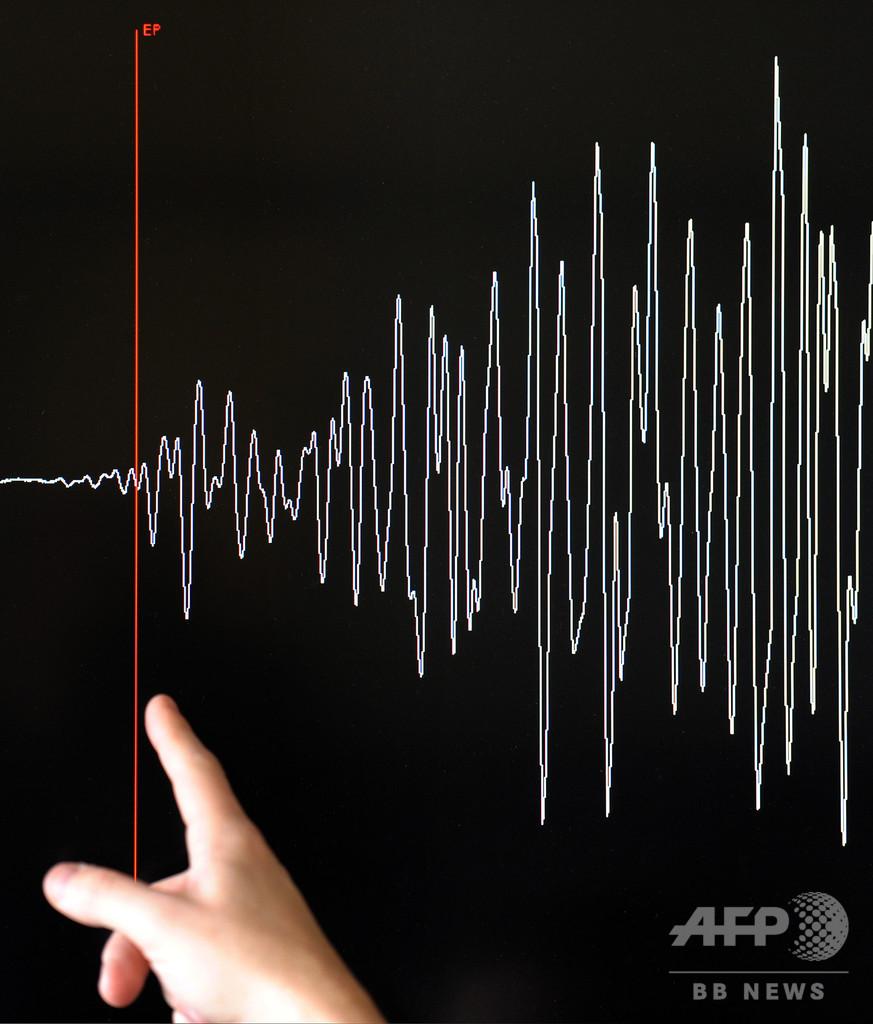 フィジー沖でM8.2の地震、震源深く津波の危険なし