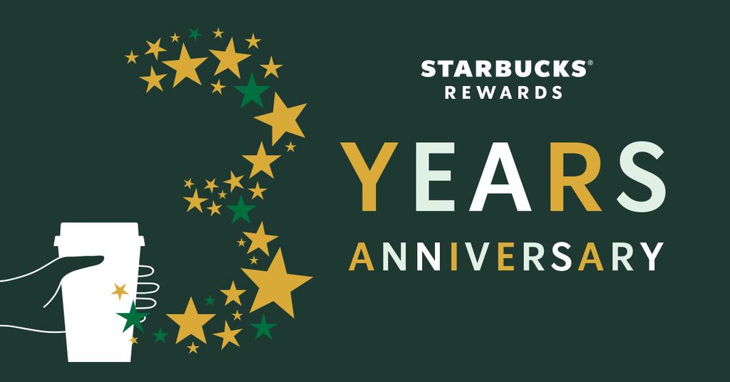 スターバックスのロイヤルティ プログラム「Starbucks(R) Rewards」が3周年に~新たな生活様式に寄り添ったサービス拡充により会員数が飛躍的に増加し、620万人を突破~