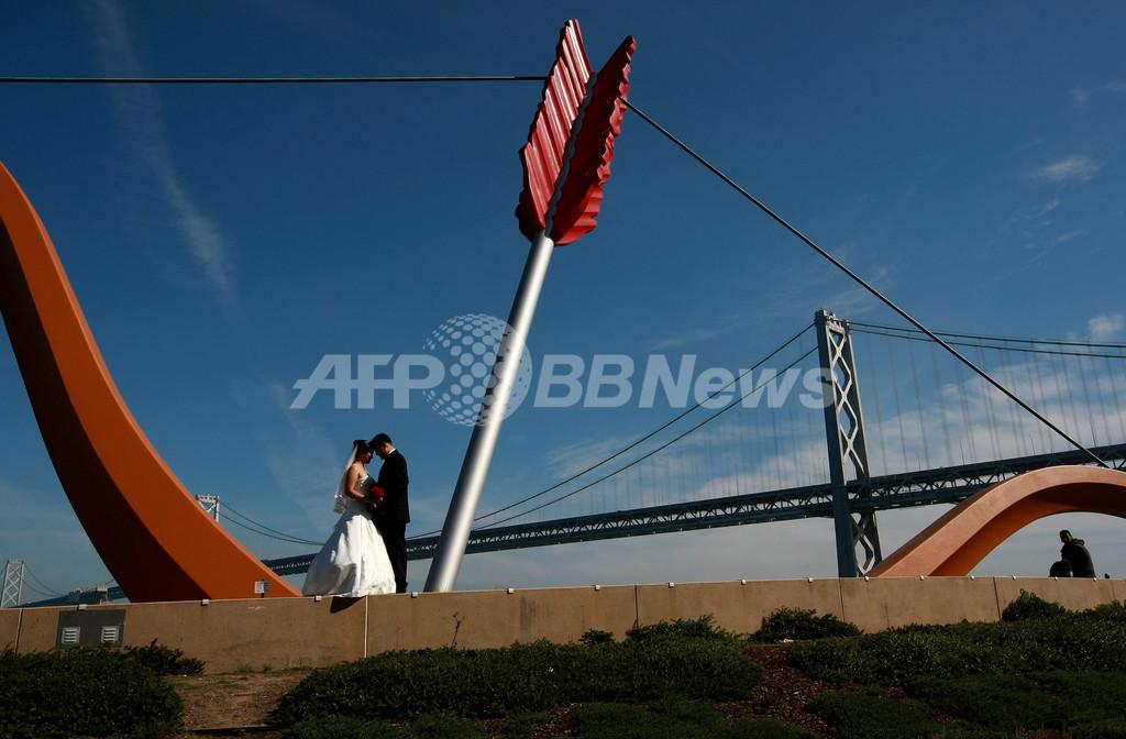 キューピッドの矢に誓う永遠の愛、サンフランシスコ