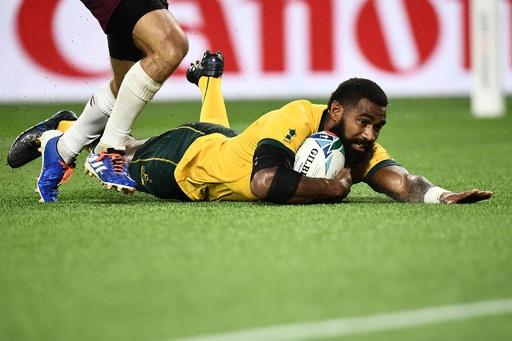 オーストラリア、ミス重ねながらもジョージアに勝利 ラグビーW杯