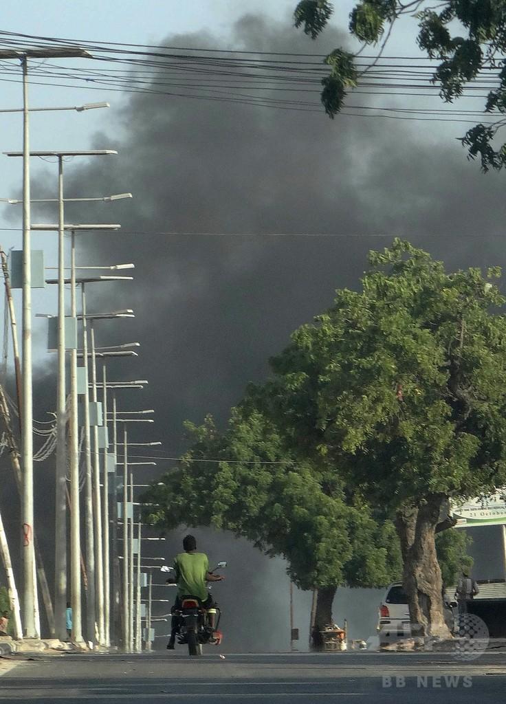 ソマリア首都で自爆攻撃、市民4人死亡 アルシャバーブが犯行声明