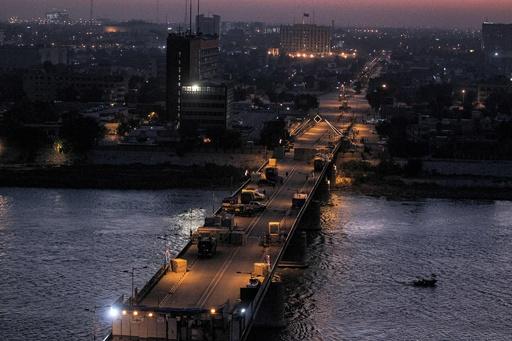 グリーンゾーンにロケット攻撃 イラク首都