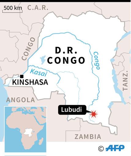 貨物列車が谷に転落・炎上、違法乗車の33人死亡か コンゴ