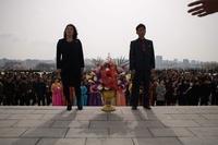 故金日成主席の生誕記念日「太陽節」 花火や集団ダンスで祝賀 北朝鮮