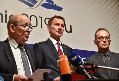 英仏独、イラン貿易支援の新組織 米制裁回避し核合意維持目指す
