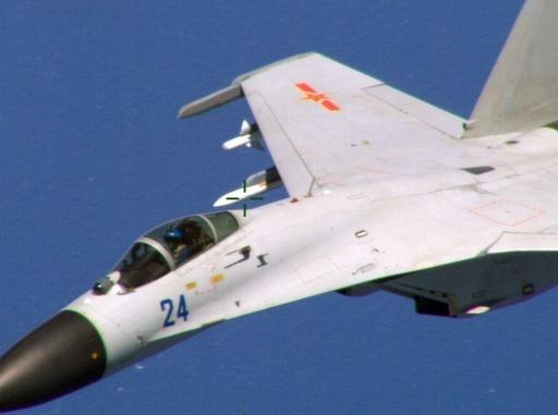 戦闘機の異常接近、米の批判に中国が反論