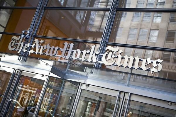 米NYタイムズ、前編集長名義の偽記事にだまされる