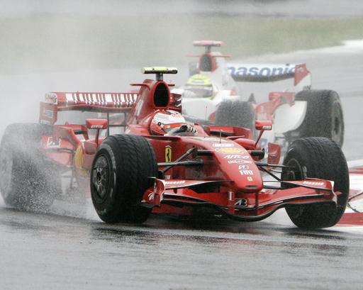 ライコネン 日本GPを3位でフィニッシュ