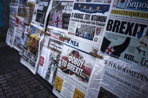 ギリシャの2紙、発行元の経営悪化で停刊へ