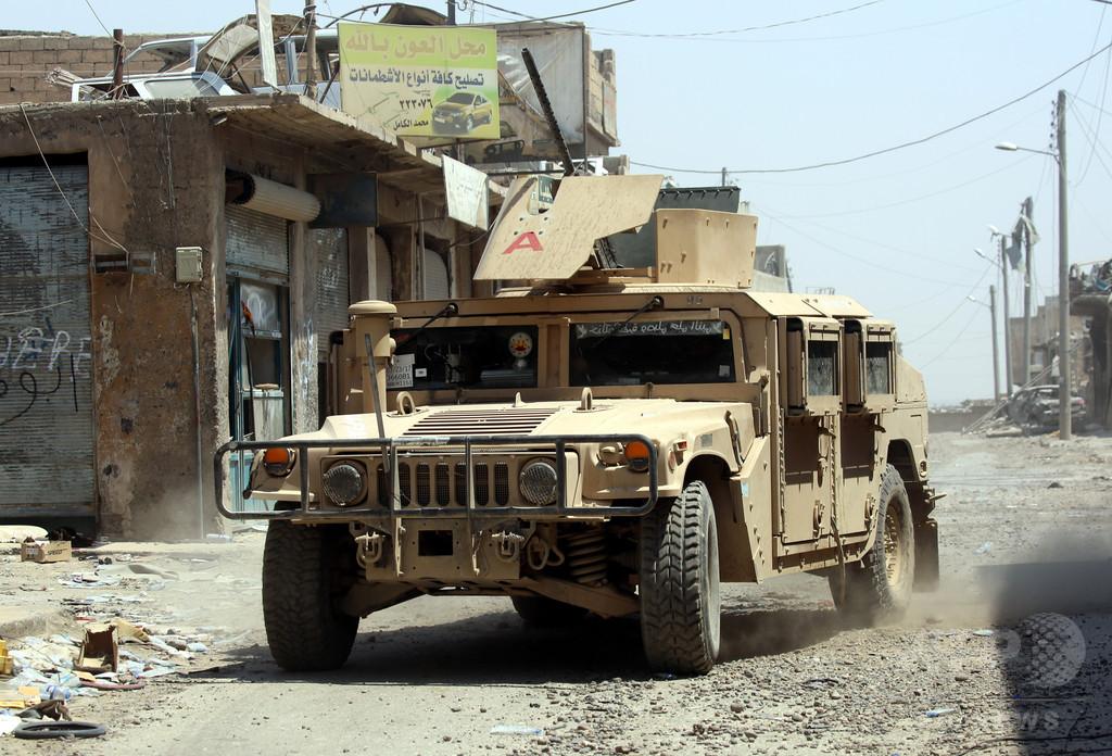 ISの「首都」ラッカ、旧市街を解放 米支援のシリア部隊