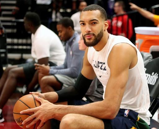 NBAジャズ、ゴベールら選手と職員全員の新型コロナ陰性を発表