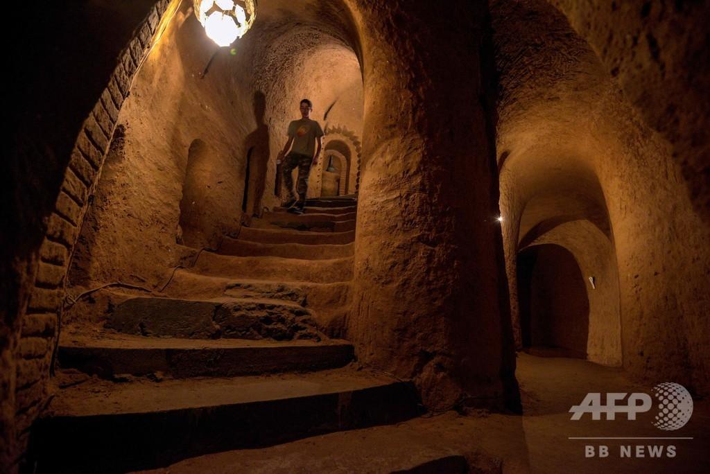 ジャガイモ貯蔵庫のはずが…23年かけて掘った地下迷宮、人気観光地に アルメニア
