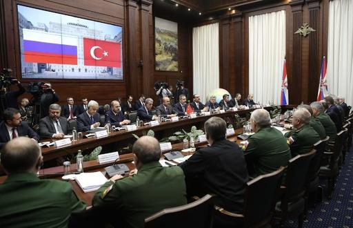 米軍撤退後のシリア地上作戦で連携、ロシアとトルコが合意