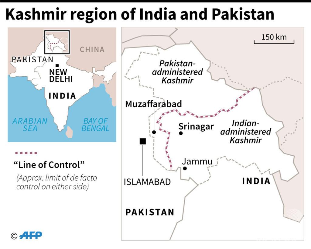 インド、パキスタン領内で過激派空爆と発表