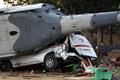 メキシコ地震、現地視察に向かった内相のヘリが墜落 13人死亡