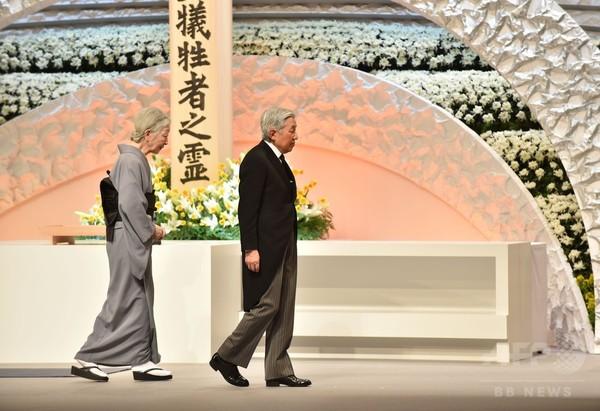 東日本大震災5年、政府主催の追悼式 各地で黙とう