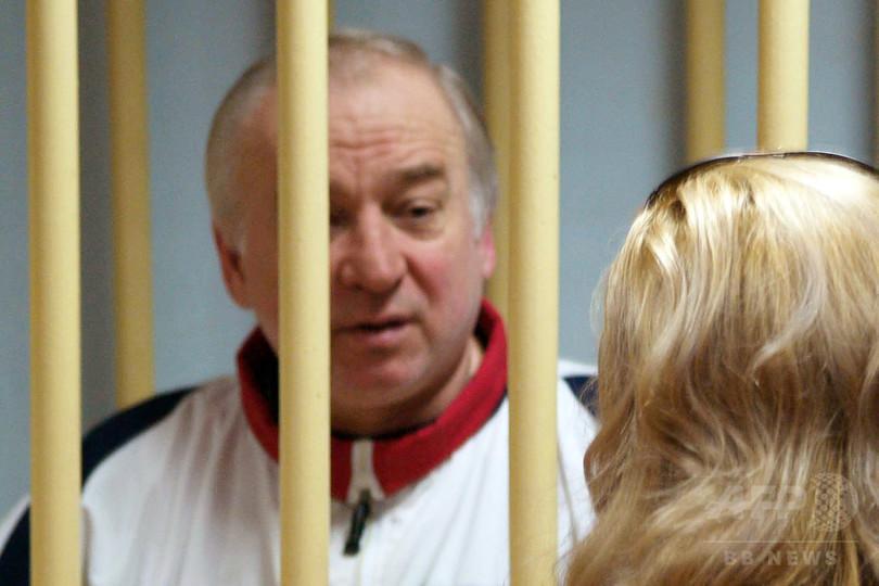 元スパイ毒殺未遂か 英「断固たる」対応警告、ロシアも応酬