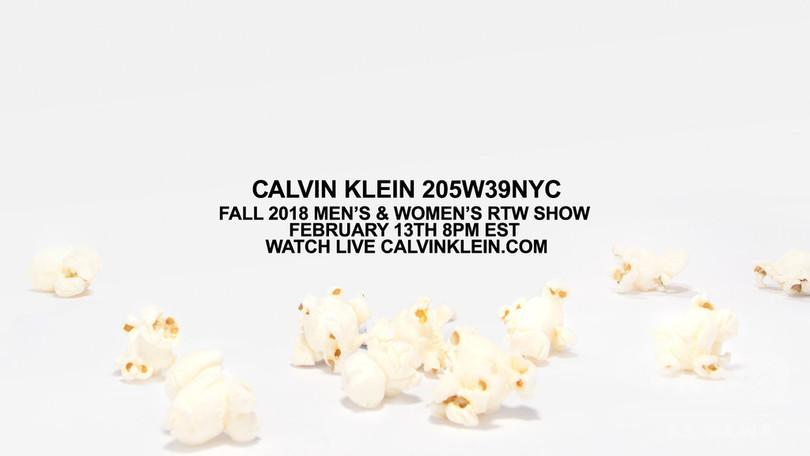 「カルバン・クライン」ラフ・シモンズ着任3シーズン目のショーをライブ配信