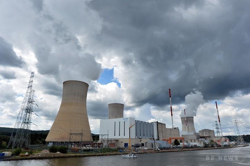 ベルギー原発で火災発生、原子炉運転停止