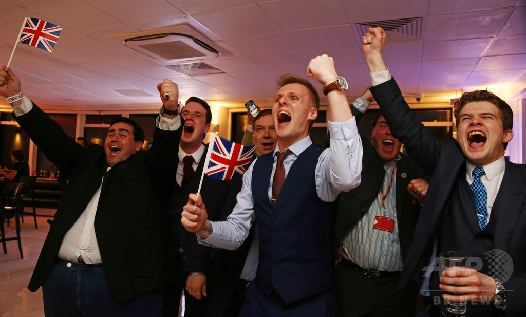 英国民投票、ブックメーカーが「離脱」予想に転向 写真4枚 国際 ...