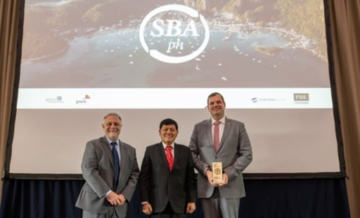メルコ、「2019サステナブル・ビジネス・アワード・フィリピン」を受賞