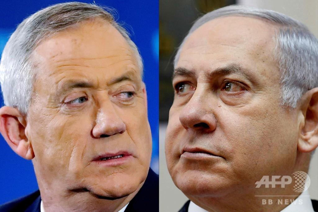 イスラエル総選挙、出口調査は拮抗 与野党ともに勝利宣言