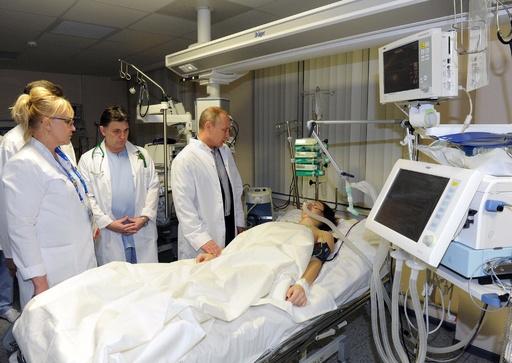 重傷のロシア人女性選手は下半身まひ、病院側が認める