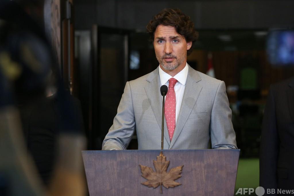カナダ首相「表現の自由には限度がある」 仏の風刺画事件受け