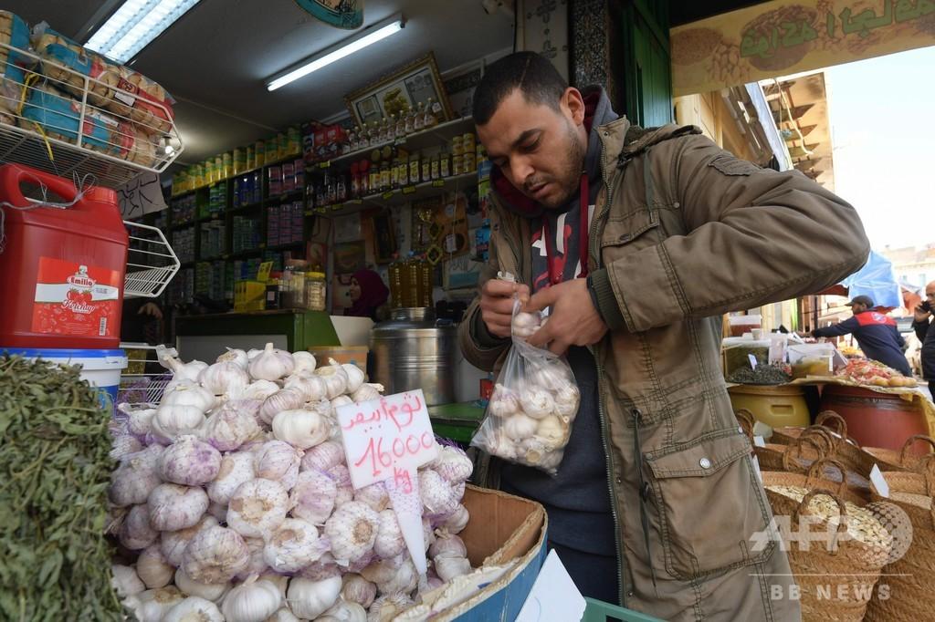 新型コロナにニンニクが効く? デマでパニック買い発生 チュニジア