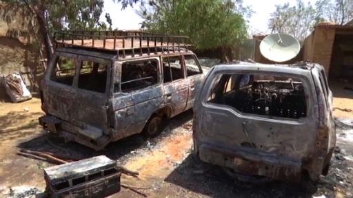 動画:狩猟民が村を襲撃、牧畜民の死者160人超 西アフリカ・マリ