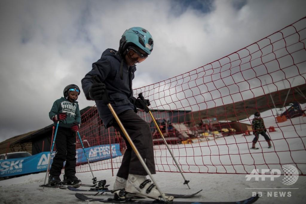 冬季五輪も夢じゃない、アフリカのスキーリゾート レソト