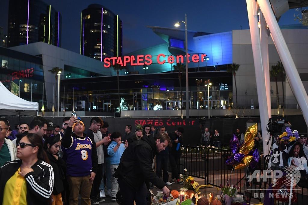 コービー氏追悼式を24日にステープルズ・センターで開催、米報道