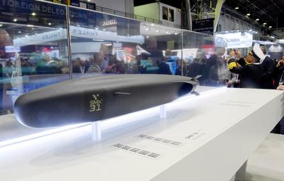 オーストラリア、次期潜水艦で仏企業と協定 総額3兆9000億円規模
