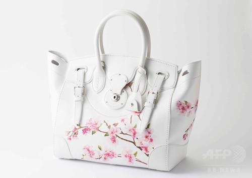 「ラルフ ローレン」震災復興支援、桜リッキーバッグ18日発売