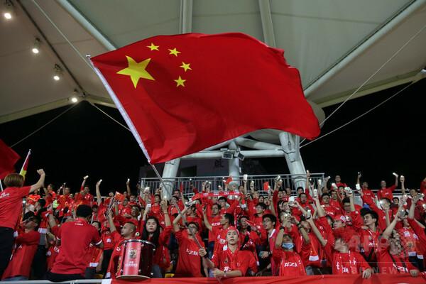中国「W杯出場の夢をかなえるチャンス」 出場枠拡大を歓迎