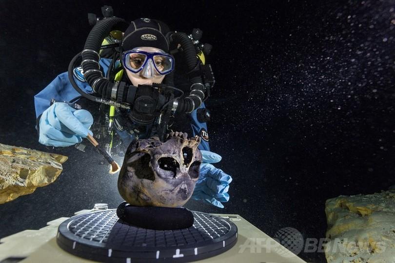 1万2000年以上前の少女の骨、米先住民起源たどる手掛かりに
